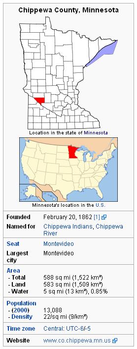 Chippewa Country info box
