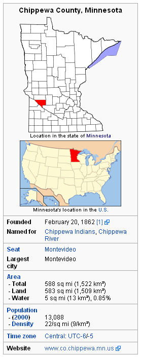 Chippewa Country info box