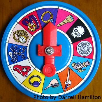 Spinner, by Darrell Hamilton