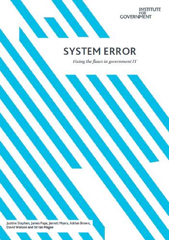 System Error cover