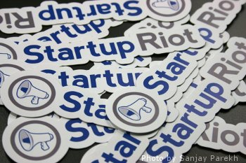 Startup Riot Stickers, by Sanjay Parekh