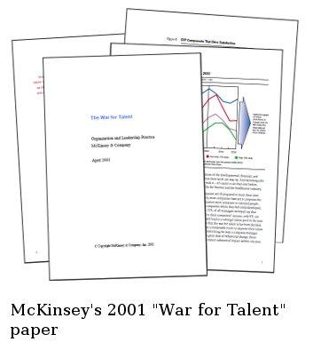 McKinsey's 2001 War for Talent paper