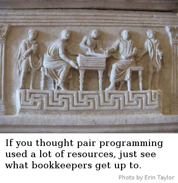 Bookkeeping - photo by Erin Taylor