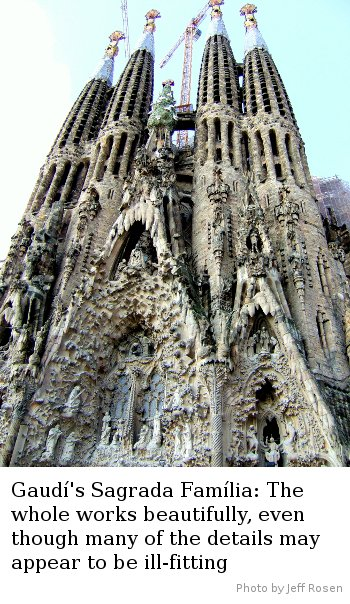 Sagrada Familia - Photo by Jeff Rosen