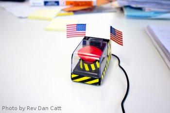 Launch button - Photo by Rev Dan Catt